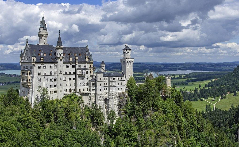 De meeste bekende en beroemde kastelen van Duitsland